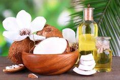 noix de coco pour lisser les cheveux