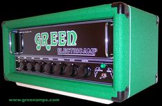 Green Amps - check out Planet of The Amps http://www.planetoftheamps.com/menu.html