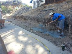 6-12 inches of compact base rock should work for most block retaining walls. Check out our retaining wall blogs for the latest information : http://www.allaccesslandscape.com/category/retaining-walls/
