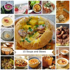 Stay warm this fall with these delicious soups & stews ideas. Easy to make, one pot cooking which means easy clean up.