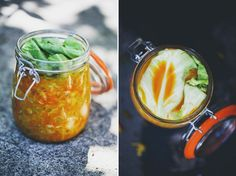 Golden Sauerkraut – Wild Fermentation. #fermentation