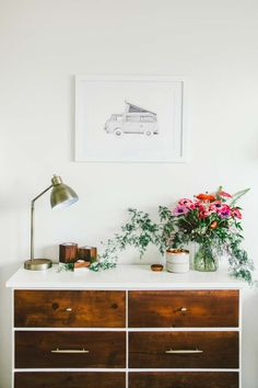 A Cheery Home By the Beach in Oceanside, CA | Design*Sponge