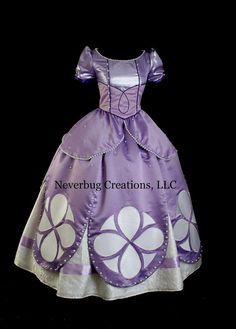 Sofia Princess Custom Parks Costume