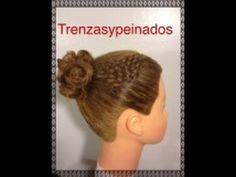 Peinado Tejido en Canasta con Mono Elegante – Basket Weave Hairstyle