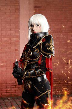 female warhammer adepatas sororitas cosplay - Google Search