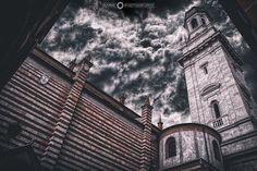 Campanile Del Duomo Di Verona - Italia