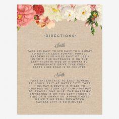 Le Jardinier Insert card PDF
