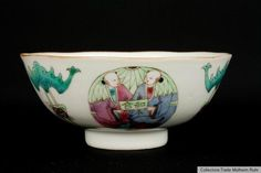 China 20 Jh. Schale - A Chinese Famille Rose Porcelain Bowl - Cinese Chinois