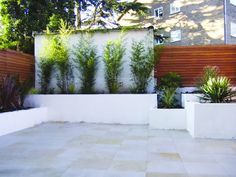 LivingEtc: Contemporary Wooden fence Panels for garden?