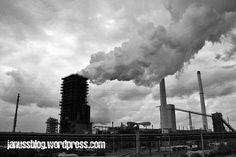 """""""#Stahlwerk der #ThyssenKrupp AG in #Duisburg-Hamborn"""" lizensiert unter: CC BY-NC 3.0 #Ruhrgebiet"""