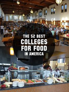 52 Best Colleges for Food in America — Is your alma mater on the list?