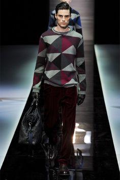 Giorgio Armani Fall/Winter 2013 | Milan Fashion Week