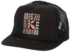 Tapa inspired trucker. Light and comfy!!