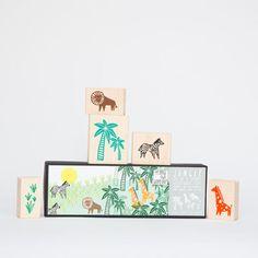 Jungle,Stamp,Set