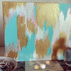 Omg I have these colors in paint. & A mini canvases .