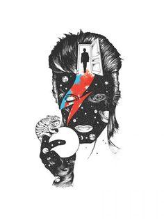 Coleção Camiseteria - David Bowie in The Last Door