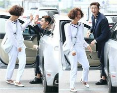 Park Seo Joon (Ji Sung Joon) and Hwang Jung Eum (Kim Hye Jin) are all smiles in 'She Was Pretty' bts cuts She Was Pretty Kdrama, Sung Joon, Ji Sung, Girl Drama, Hwang Jung Eum, Best Kdrama, Joon Park, Park Seo Jun, Choi Siwon