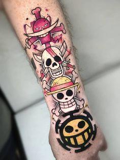 one piece tattoo & one piece swimsuit ; one piece ; one piece dress ; one piece anime ; one piece wallpaper ; one piece luffy ; one piece swimsuit modest ; one piece tattoo One Piece Tattoos, Pieces Tattoo, Body Art Tattoos, New Tattoos, Hand Tattoos, Tattoos For Guys, Tattoo Ink, Tatoos, Gamer Tattoos