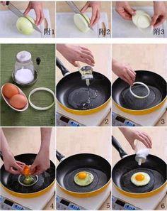 Guia Prático de Sobrevivência na Cozinha!!!! | Ovinhos perfeitos! www.artefotografiaideiasemarmotas.blogspot.com.br