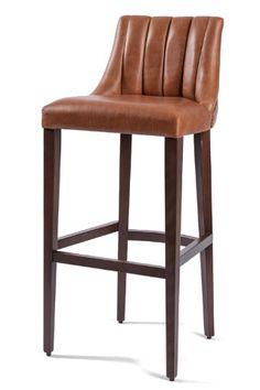leona fluted high stool