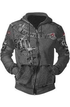 Alchemy England UL13 Ink Men's Hoody