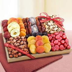Sweet Extravagance Dried Fruits and Nuts Tray - http://mygourmetgifts.com/sweet-extravagance-dried-fruits-and-nuts-tray/