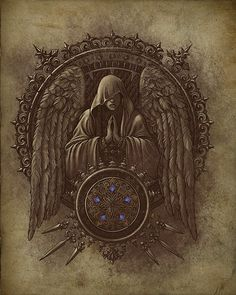 Light Magic by Daniel Jimenez Villalba danieljimenez Castlevania Lord Of Shadow, Castlevania Anime, Castlevania Wallpaper, Lord Of Shadows, Gothic Fantasy Art, Dragon Rpg, Esoteric Art, Digital Art Gallery, Ange Demon