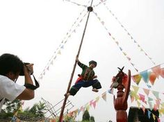Climbing a Ladder of Knives - Miao, ethnic Chinese group culture