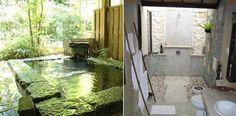 Exterior baths