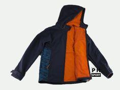 Chlapecká softshellová bunda Tenth - modrá