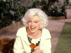 Marilyn on the set of Something's Got To Give