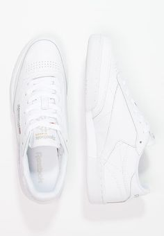 be64b1946cee Reebok Classic CLUB C 85 - Sneaker low - white light grey - Zalando.