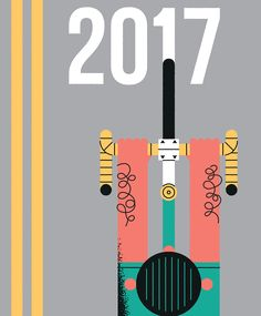 Cyclist: Looking ahead to 2017 on Behance