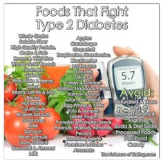 Foods That Fight Type 2 Diabetes