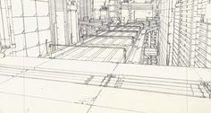 The intricate hand-drawn worlds of director Mamoru Oshii's films hide lessons for architects.