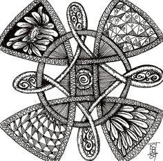 celtic doodle, via Flickr.
