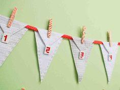 Katso video: Tee itse joulukalenteri. Pyykkipojilla ripustettavat pussukat askarrellaan huovasta ja hamahelmistä.