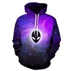 Galaxy Alien Hoodie