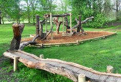 Public Parks & Places natural trim trail for all age play
