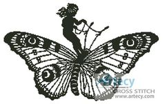 Image result for cross between butterfly and girl
