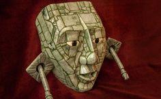 "aguiladejade: ""Jade use in the Americas: Maya Areas: México, Guatemala, Honduras, Belize • Nebaj, El Quiché, Guatemala • Kinich Ahau Head: Belize • Figure: Honduras • Head Pendant: México/Guatemala •..."