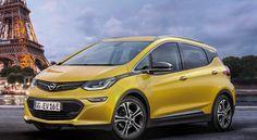 Futures voitures électriques Opel Ampera E (2018)