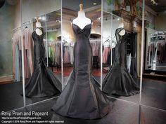 Black Sweetheart Mermaid Prom/Pageant Dress