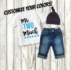 Two Year Old Boy Clothing Clothes Birthday Shirt 2nd by mamabijou