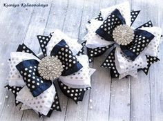 Discover thousands of images about Photo Ribbon Headbands, Ribbon Bows, Baby Headbands, Ribbons, Baby Hair Clips, Baby Hair Bows, Hair Bow Tutorial, Boutique Hair Bows, Making Hair Bows