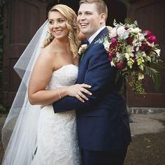 Congratulations to gorgeous #rcrealbride Emma who married in @maggiesotterodesigns ?? #dreamsintodresses #love #maggiesottero #raffaeleciuca