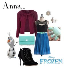 Disney Inspired Outfits | Fashion Friday: Disney's Frozen – Anna Inspired Outfit ...