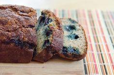 Tipsy Blueberry Banana Bread {Gluten-Free & Paleo}