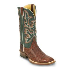 Justin Men's Full Quill Ostrich Boots #holidays #christmas #contest