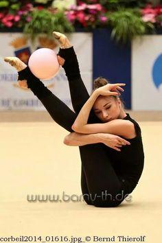 Viktoria Mazur Training - Rhythmic Gymnastics